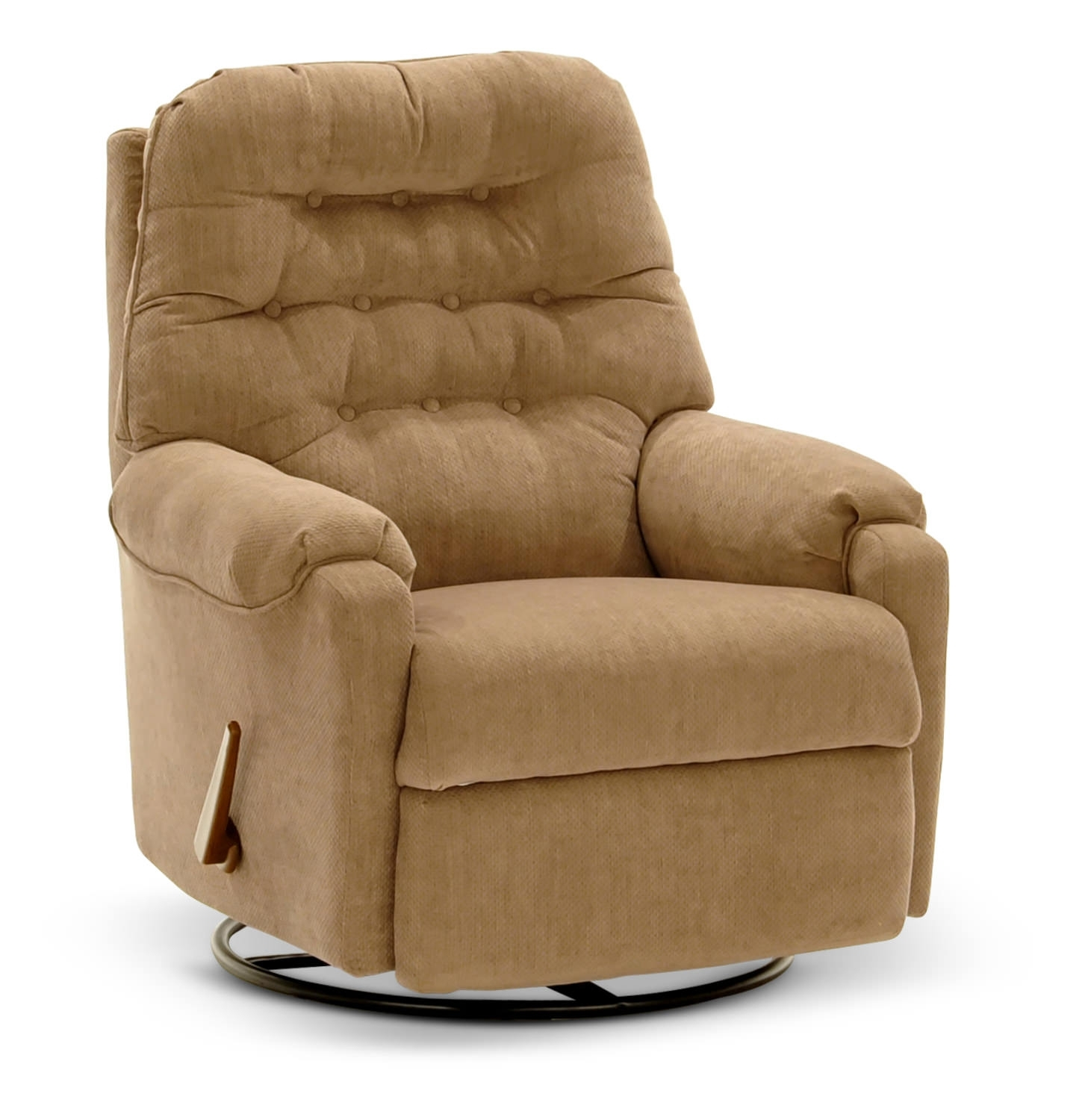 Recliners – Leather, Rocker & Swivel – Hom Furniture Within Travis Dk Grey Leather 6 Piece Power Reclining Sectionals With Power Headrest & Usb (Image 17 of 25)