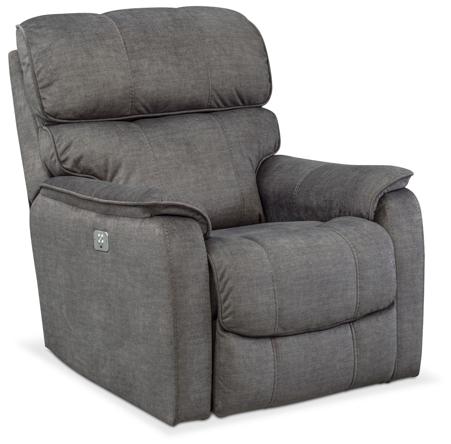 Recliners & Rockers | Value City Furniture | Value City Furniture Intended For Denali Light Grey 6 Piece Reclining Sectionals With 2 Power Headrests (Image 21 of 25)