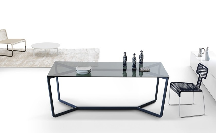 Rectangular Crystal Dining Table Trailmy Home Collection Design Within Crystal Dining Tables (View 21 of 25)