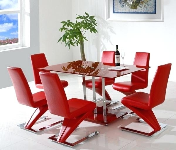 Red Dining Chairs – Buxenz In Red Dining Table Sets (Image 11 of 25)