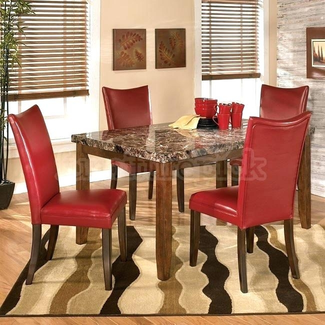 Red Dining Room Chairs Ebay – Modern Computer Desk Cosmeticdentist Throughout Red Dining Tables And Chairs (Image 15 of 25)