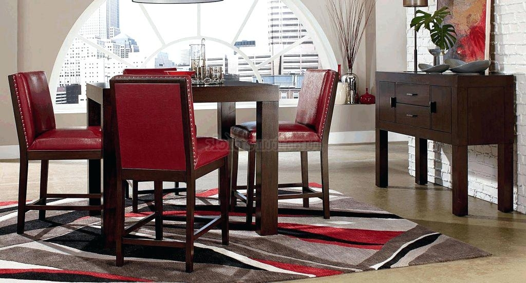 Red Dining Table And Chairs Dining Room Chair Red Dining Table Set With Regard To Red Dining Table Sets (Image 16 of 25)