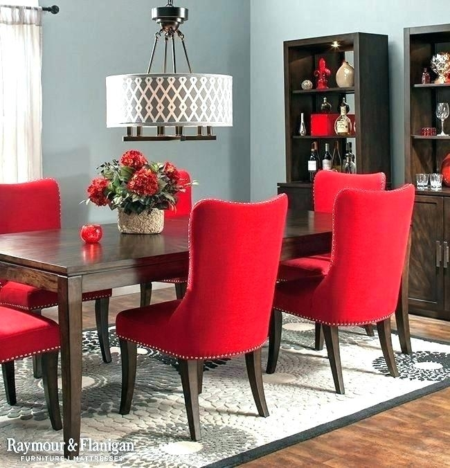 Red Dining Table And Chairs Fantastic Red Dining Table Set Red Intended For Red Dining Tables And Chairs (Image 17 of 25)