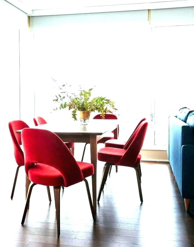 Red Dining Table And Chairs Red Dining Table Set Glass Dining Table Throughout Red Dining Tables And Chairs (View 17 of 25)