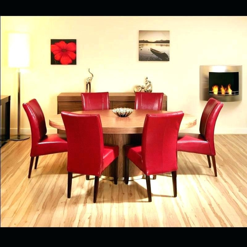 Red Dining Table Set – Kuchniauani Intended For Red Dining Table Sets (View 12 of 25)
