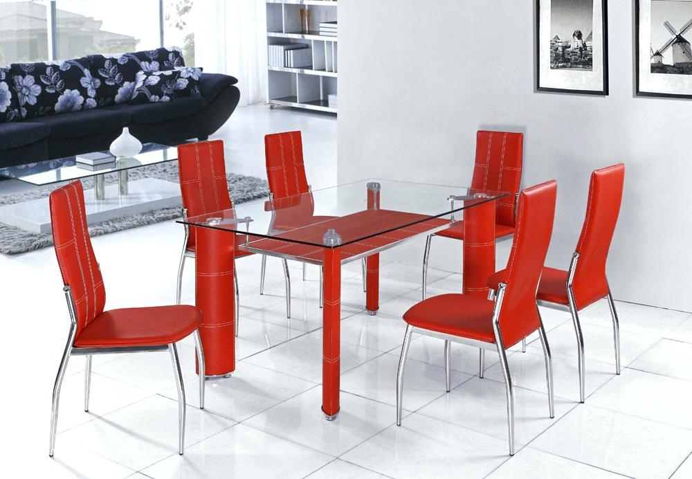 Red Dining Tables Inspiring Table Sets Glass For Lift Top Coffee Intended For Red Dining Table Sets (View 7 of 25)