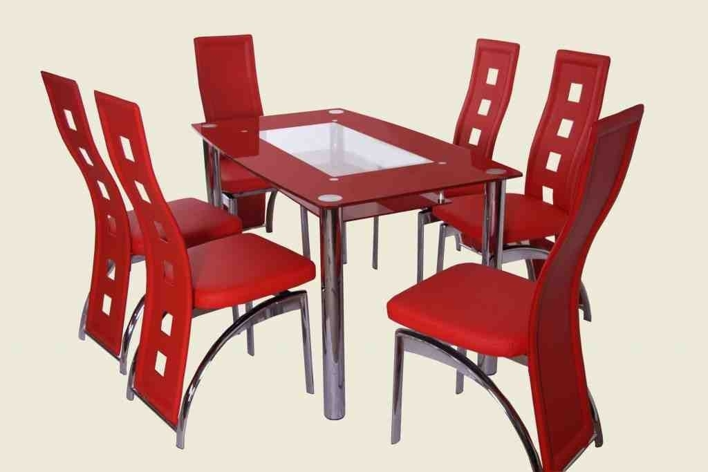 Red Kitchen Table And Chairs | Tv Kitchen Table And Chairs For Red Dining Table Sets (Image 22 of 25)