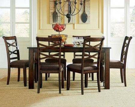 Featured Image of Market 7 Piece Dining Sets With Side Chairs