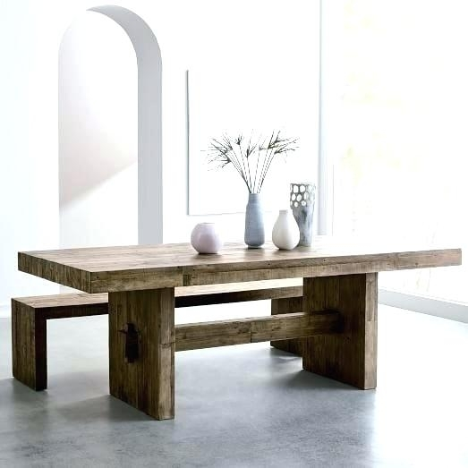Refurbished Dining Table Best Refurbished Dining Tables Ideas On Pertaining To Wood Dining Tables (Image 19 of 25)