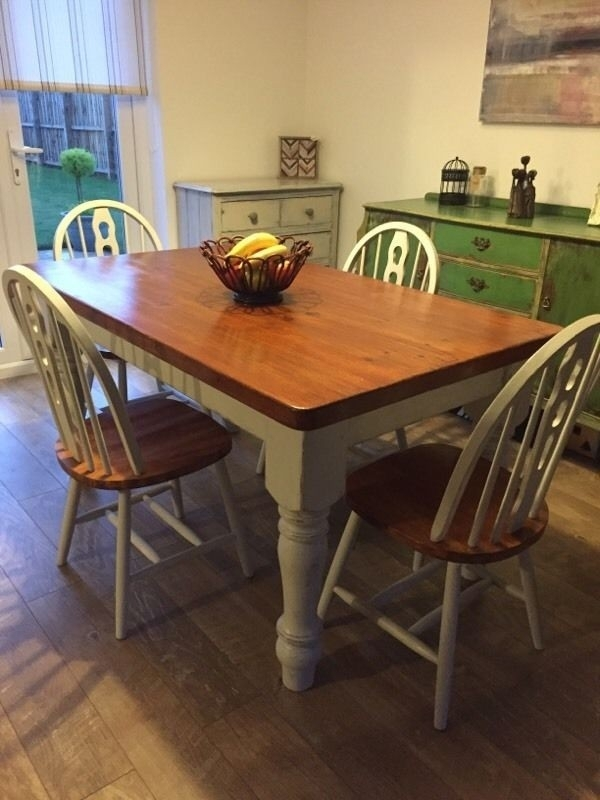 Refurbished Dining Tables – Soulpower With Regard To Glasgow Dining Sets (Image 20 of 25)