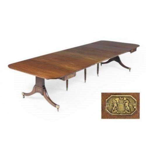 Regency Antique Mahogany Extending Dining Tableedwards | Mayfair Pertaining To Mayfair Dining Tables (Image 24 of 25)