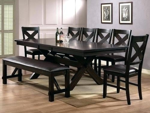 Remarkable Dining Room Sets For 8 8 Table And Chairs Glass Dining Within Dining Tables Set For  (Image 21 of 25)