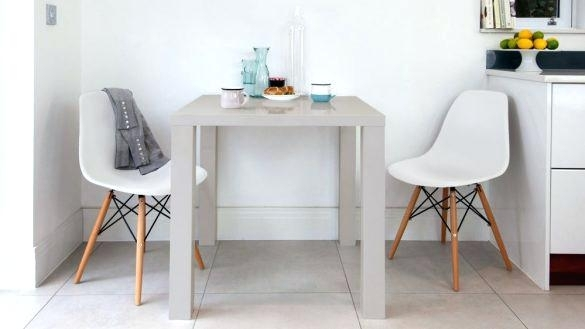 Remarkable Two Person Dining Tables At Set Replica Grey Gloss In Two Person Dining Tables (View 17 of 25)