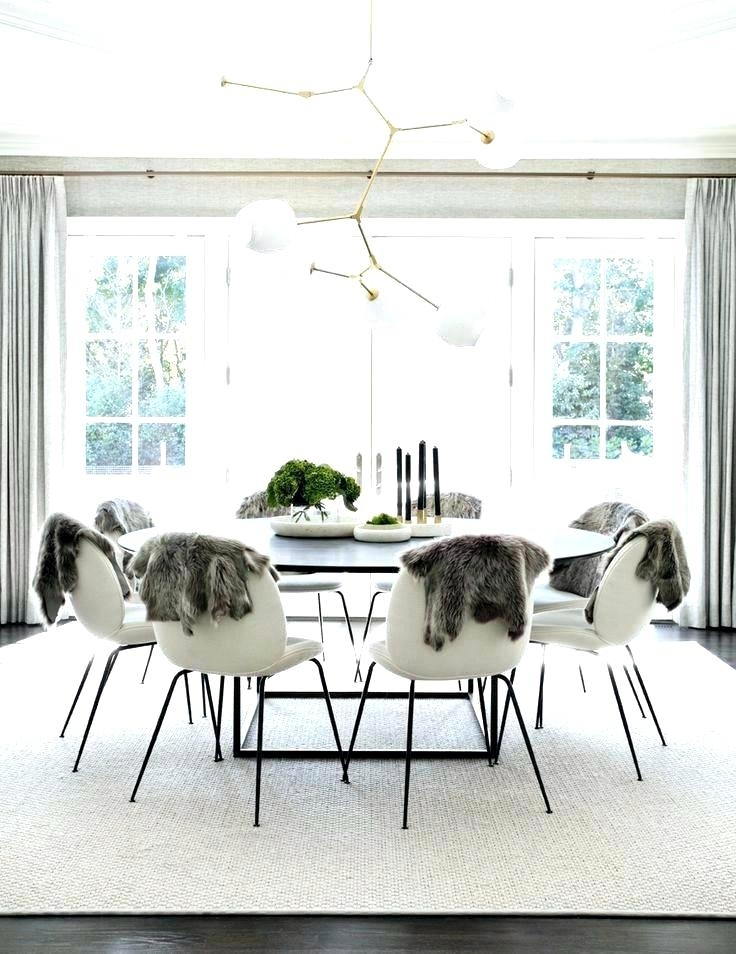 Remarkable White Chairs Big Big Round Dining Table Stunning Dining Inside Large White Round Dining Tables (View 12 of 25)