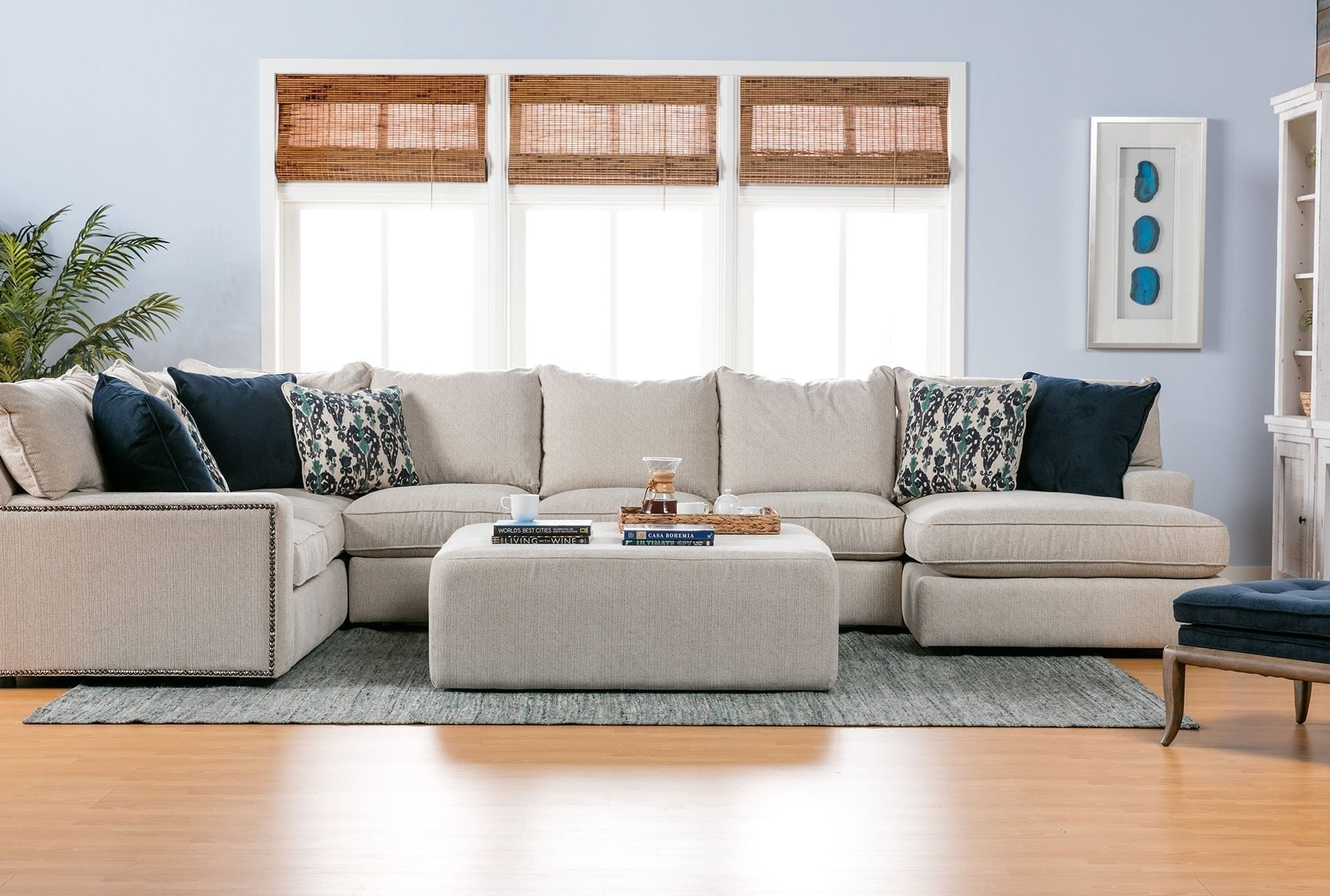 Rennell 3 Piece Sectional W/raf Chaise | Living Room | Pinterest Inside Haven 3 Piece Sectionals (View 3 of 25)