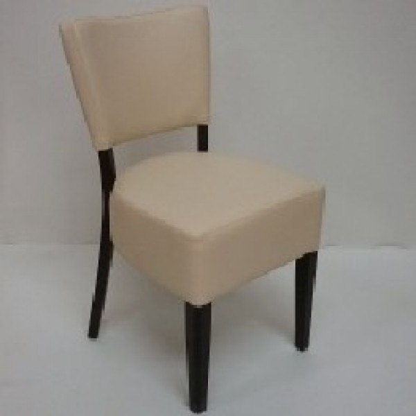 Restaurant Furniture – Thrasher Faux Leather Dining Chairs – Red Intended For Cream Faux Leather Dining Chairs (Image 21 of 25)