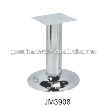 Restaurant Round Table Legs Brushed Stainless Steel Dining Table Intended For Brushed Steel Dining Tables (Image 18 of 25)