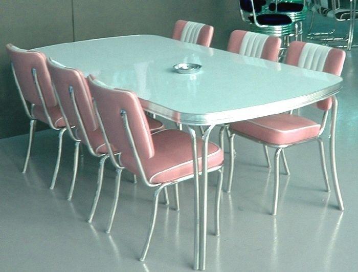Retro Diner Sets Booths Diner Booths Bel Air 50S American Diner Inside Retro Dining Tables (Image 13 of 25)