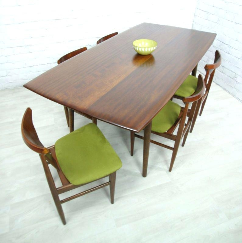 Retro Dining Table – Home Accesories Design Throughout Retro Dining Tables (View 2 of 25)