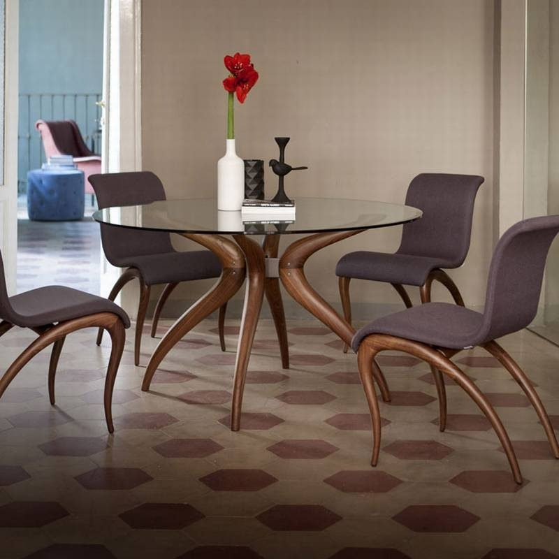 Retro Glass Dining Table Set – Dining Tables Ideas Regarding Retro Glass Dining Tables And Chairs (View 3 of 25)