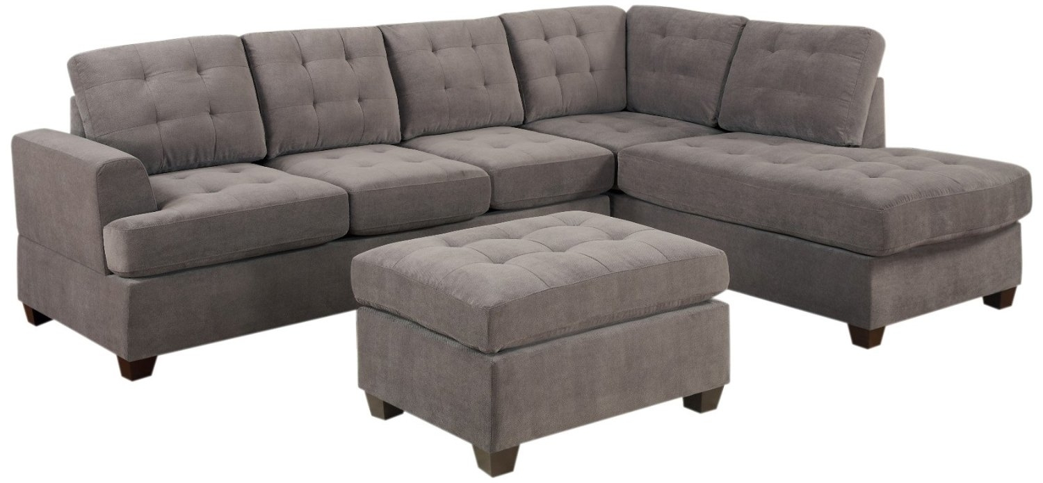 Reversible Chaise Sofa – Home Decor 88 In Mcculla Sofa Sectionals With Reversible Chaise (Image 21 of 25)