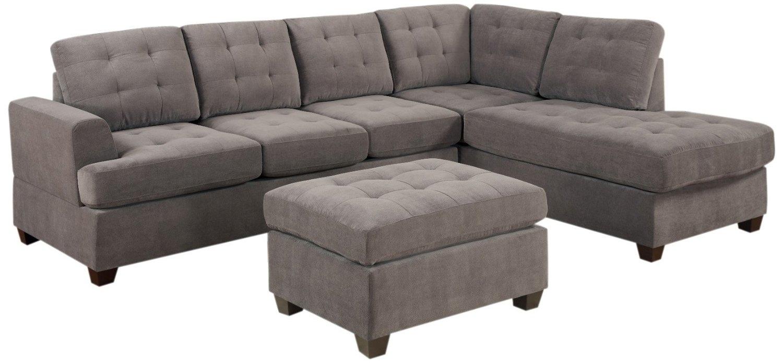Reversible Chaise Sofa – Home Decor 88 In Mcculla Sofa Sectionals With Reversible Chaise (View 25 of 25)