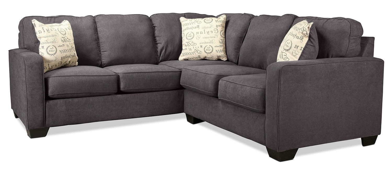 Right Facing Sectional Jobs Oat 2 Piece With Chaise Living Spaces with regard to Jobs Oat 2 Piece Sectionals With Left Facing Chaise
