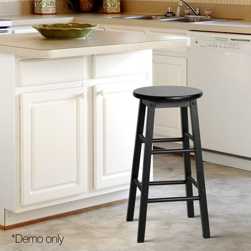 Rocco Beech Wood Barstools | Temple & Webster With Rocco 9 Piece Extension Counter Sets (Image 21 of 25)