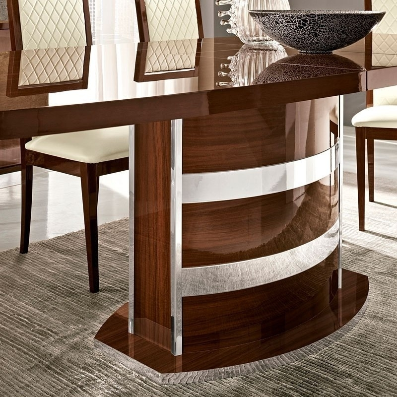 Roma Dining Table (Walnut) Esf Furniture   Furniturepick Throughout Roma Dining Tables (Image 16 of 25)