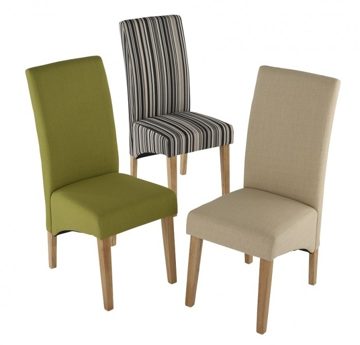 Roma Fabric Dining Chair (Pair) | Dining Chairs | Furn On Inside Fabric Covered Dining Chairs (Image 18 of 25)