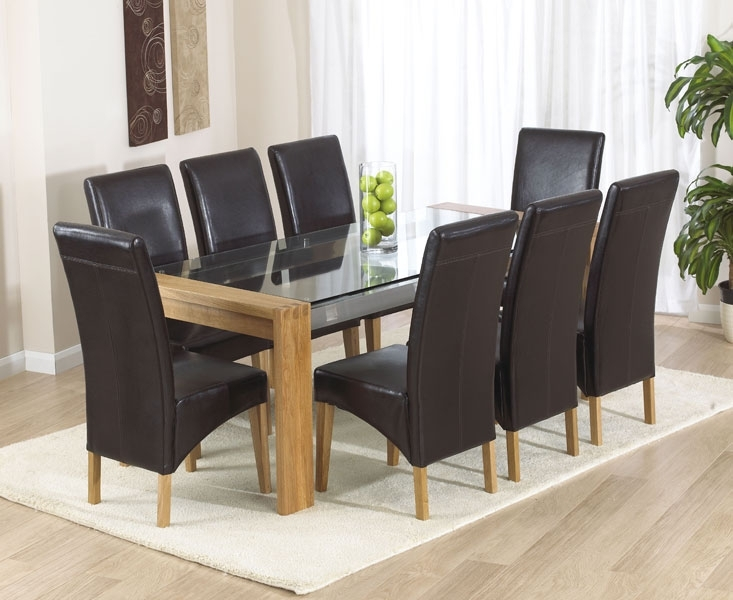 Roma Range | Mark Harris Furniture |First Furniture Within Oak Dining Tables And Leather Chairs (View 12 of 25)