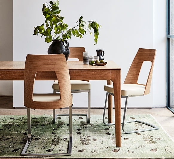 Romana Small Extending Dining Table – Dining Tables – Ercol Furniture With Regard To Small Extending Dining Tables (Image 16 of 25)