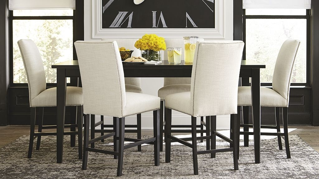 Room Scene | Interior Design | Pinterest | Room, Family Gatherings With Norwood 6 Piece Rectangular Extension Dining Sets With Upholstered Side Chairs (Image 22 of 25)