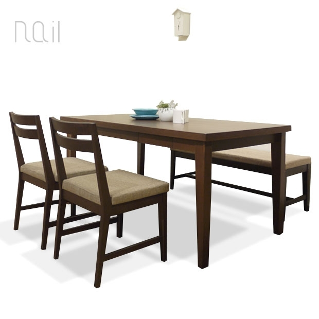 Roomnext | Rakuten Global Market: • Clearance Sale / Nail Dining Inside Market 7 Piece Dining Sets With Side Chairs (Image 20 of 25)