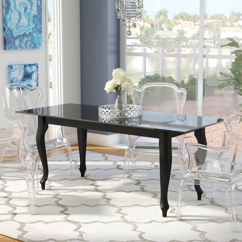 Rosdorf Park Alena Retro Dining Table | Wayfair Inside Retro Dining Tables (View 20 of 25)
