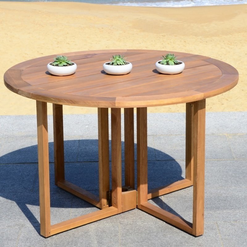 Rosecliff Heights Marino Round Dining Table | Wayfair Regarding Macie Round Dining Tables (View 9 of 25)