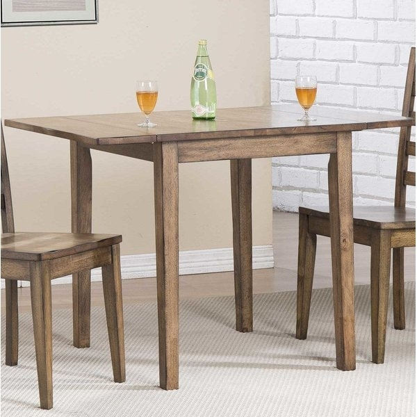 Rosecliff Heights Rutledge Drop Leaf Dining Table & Reviews | Wayfair Within Cheap Drop Leaf Dining Tables (View 12 of 25)