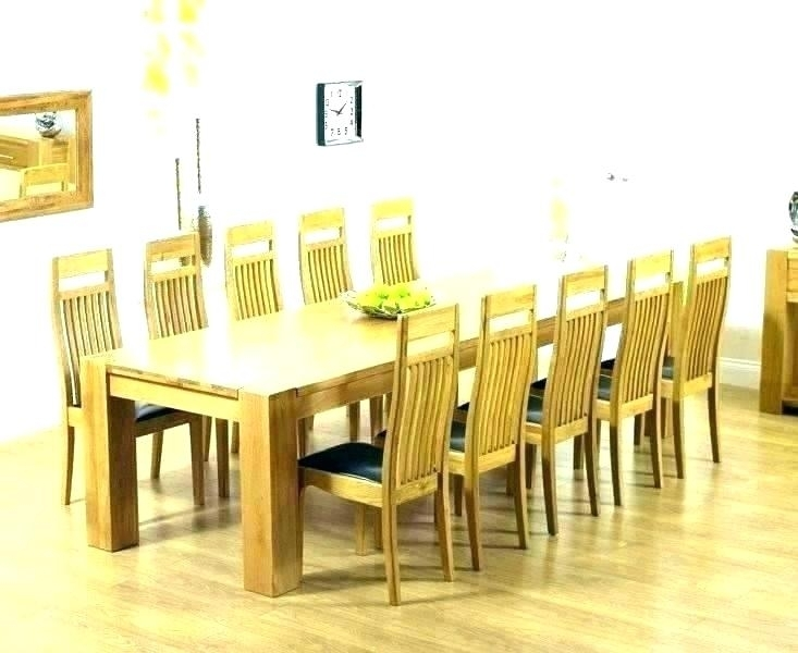 Rosewood Dining Table 8 Chairs Table And 8 Chairs Dining Table With Within Oak Dining Tables 8 Chairs (View 11 of 25)