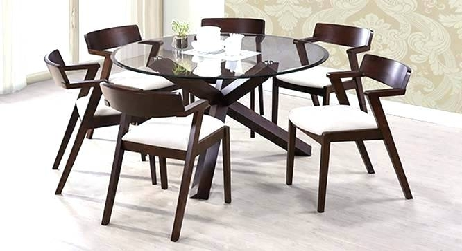 Round 6 Seater Dining Table 6 Seat Table Round 6 Seat Dining Table 6 Intended For 6 Seater Round Dining Tables (Image 17 of 25)
