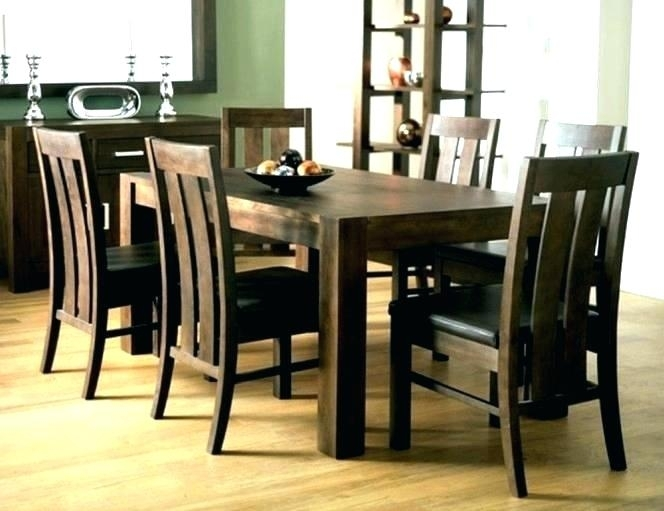 Round 6 Seater Dining Table 6 Seat Table Round 6 Seat Dining Table 6 Throughout Walnut Dining Tables And 6 Chairs (Image 21 of 25)