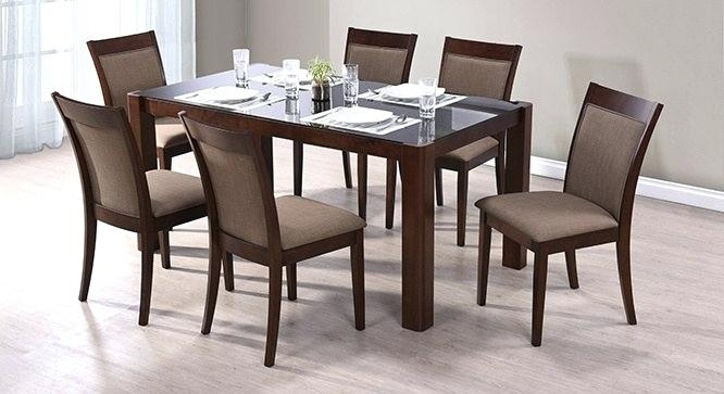 Round 6 Seater Dining Table 6 Seat Table Round 6 Seat Dining Table 6 With Regard To Glass 6 Seater Dining Tables (Image 20 of 25)