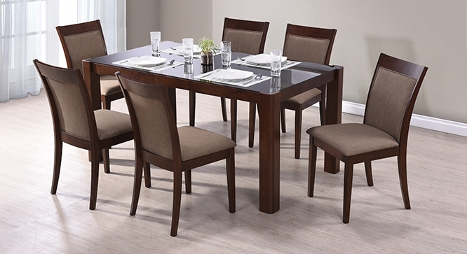 Round 6 Seater Dining Table Delectable Decor Simple Design Regarding With Dining Tables For Six (Image 21 of 25)