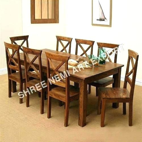 Round 8 Seat Dining Table – Buxenz Inside 8 Seat Dining Tables (Image 22 of 25)