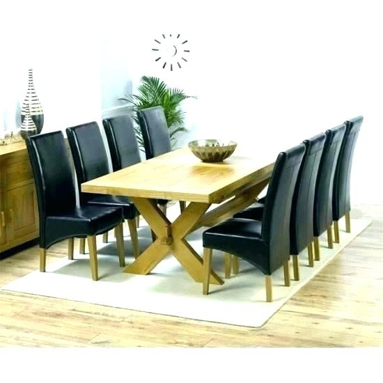 Round 8 Seat Dining Table – Buxenz throughout Dining Tables And 8 Chairs