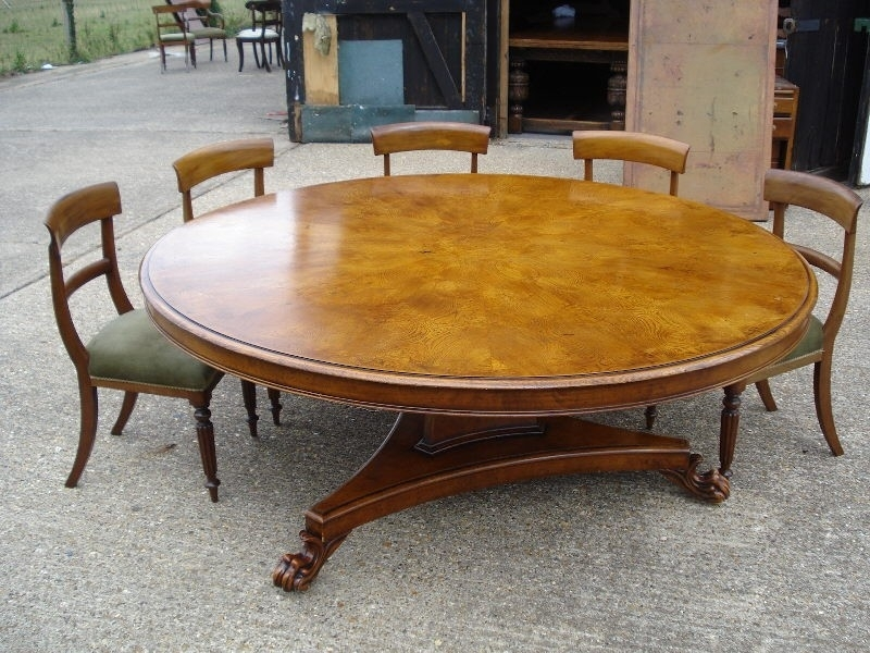Round Dining Room Table Seats 12 Luxury Antique Furniture Warehouse In Huge Round Dining Tables (Image 23 of 25)