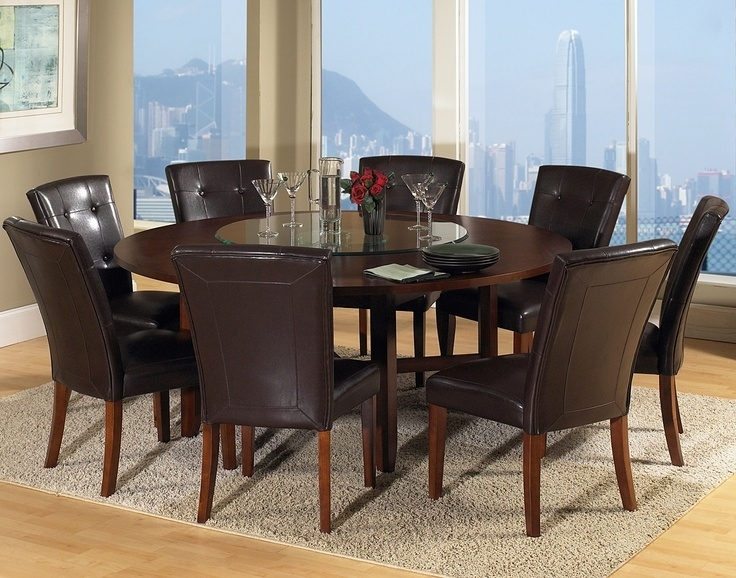 Round Dining Room Tables For 10 – Dining Table Furniture Design With 8 Seater Round Dining Table And Chairs (Image 20 of 25)