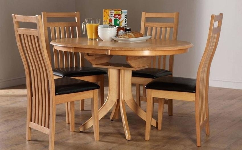 Round Dining Set For 4 – Bristoltogether With Regard To Small Round Dining Table With 4 Chairs (Image 10 of 25)