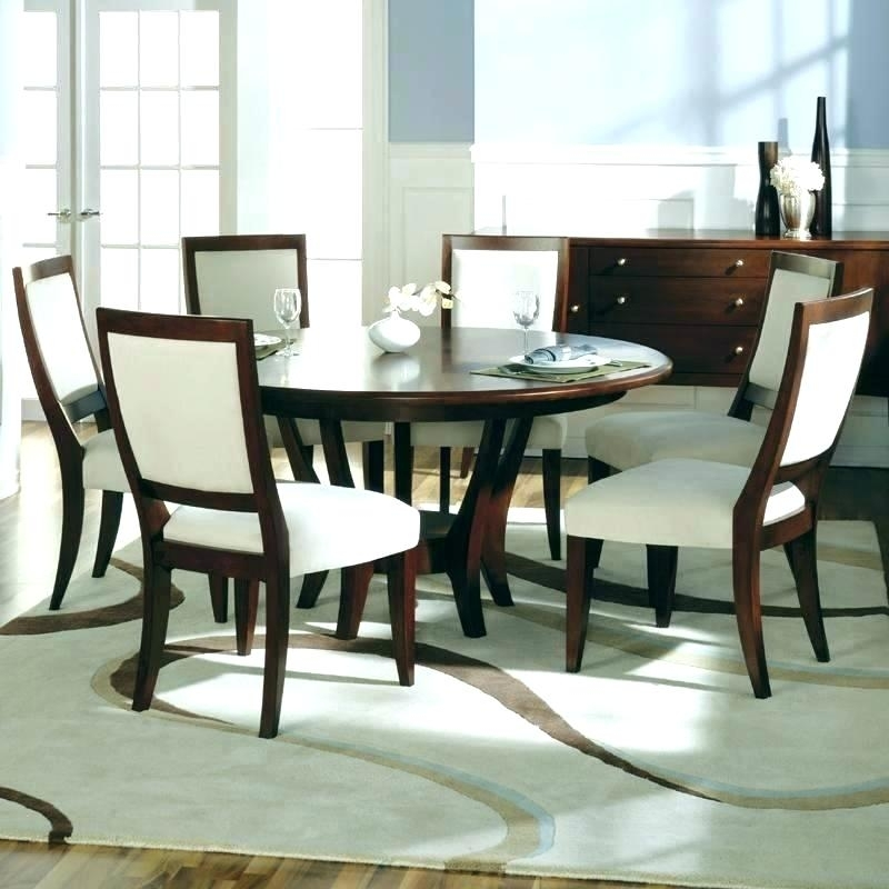 Round Dining Sets For 6 – Mrmead Regarding 6 Person Round Dining Tables (Image 17 of 25)