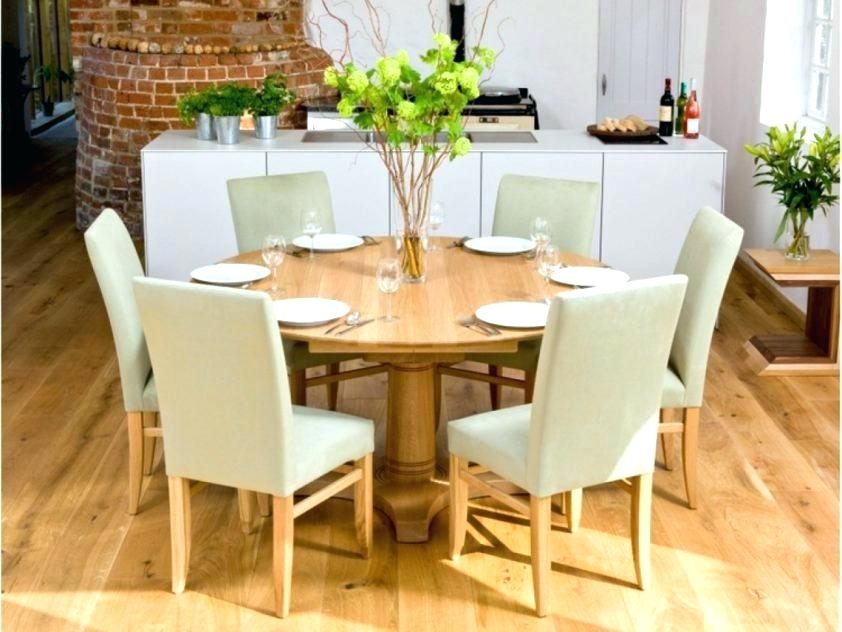 Round Dining Table 6 Inspiration House Gorgeous Dining Tables Regarding 6 Person Round Dining Tables (Image 18 of 25)