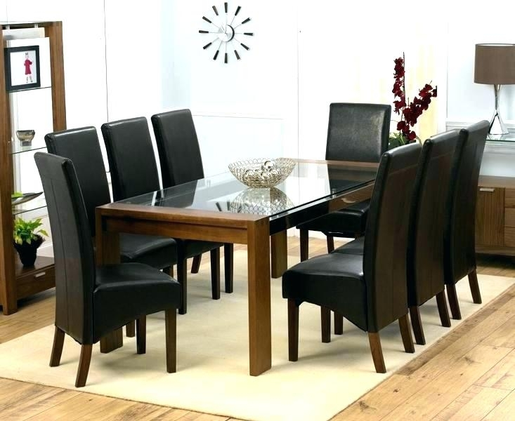 Round Dining Table 8 Chairs Kitchen Table And 8 Chairs Kitchen Table Inside Dining Tables 8 Chairs (Image 21 of 25)